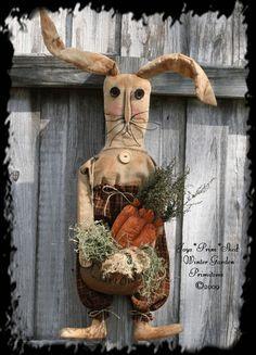 primitive bunny artwork - Google Search