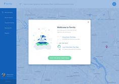 Territy Welcoming Screen by Olia Gozha Wireframe Design, App Ui Design, User Interface Design, Website Design Inspiration, Web Design Inspiration, Mobile Web Design, Layout, User Experience Design, Ui Elements
