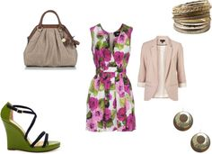 Floral, created by shreya-s on Polyvore