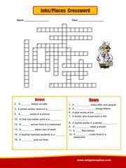 Jobs Crossword