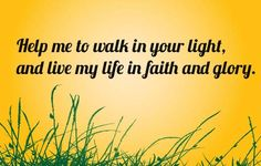 This is a powerful prayer for hope and faith.  Life is full of hardship.  It is important to maintain hope and faith in these trying times.