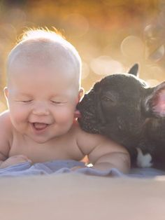 Baby And French Bulldog Best Friends Are Almost Too Cute To Handle