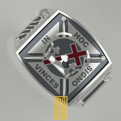 The Knights Templar Ring Unique Design for Men by MuDesignJewelry