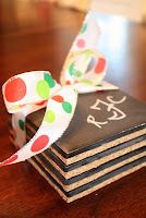A Thoughtful Place: Chalkboard Coasters