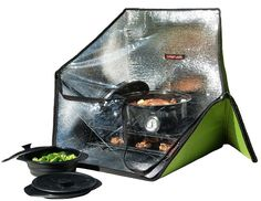 Sunflair Collapsible Solar Oven: Great for Camping and Outdoors Activities as well as Emergency Cooking