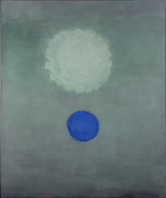 Pale Disc, 1965. Oil on canvas, 183 x 152.4 cm. Collection of the Adolph and Esther Gottlieb Foundation, New York 6527.