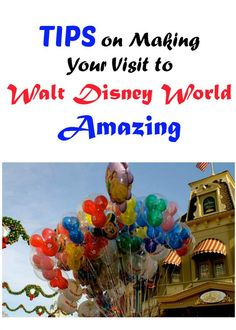 Tips from some awesome bloggers to Making Your Visit to Walt Disney World Amazing
