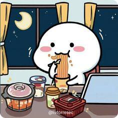Cute Cartoon Characters, Cute Cartoon Pictures, Cute Love Pictures, Cute Love Cartoons, Cartoon Jokes, Fictional Characters, Cute Panda Wallpaper, Bear Wallpaper, Wallpaper Iphone Cute