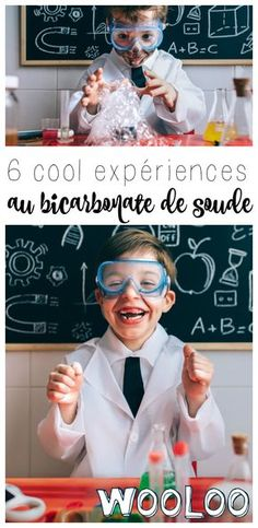 I have for you 6 experiments with baking soda to entertain children with a minimum of material! Educational Activities For Preschoolers, Toddler Activities, Science For Kids, Science And Nature, Science Fair, Baking Soda Experiments, Science Experience, Kids Tents, Harry Potter
