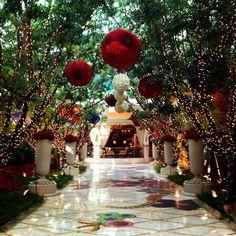 The Wynn hotel lobby Las Vegas NV