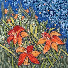Terry Grant - Orange Lilies