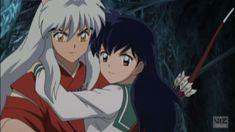Anime Screencap and Image For InuYasha: The Final Act All Anime, Anime Love, Manga Anime, Anime Art, Anime Stuff, Inuyasha Fan Art, Kagome And Inuyasha, Miroku, Kagome Higurashi