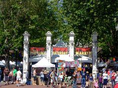 Saturday Market: 2 SW Naito Pkwy, Portland