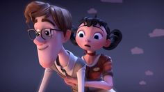 """CGI 3D Animated Short Film HD: """"On The Same Page Short Film"""" by Carla Lu..."""