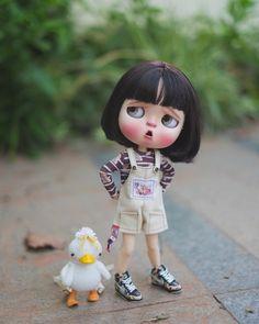 Pretty Dolls, Beautiful Dolls, Blythe Dolls, Girl Dolls, Pig Wallpaper, Cute Baby Dolls, Cute Love Pictures, Cute Cartoon Wallpapers, Funny Art