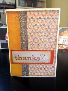 Card: Thanks Card