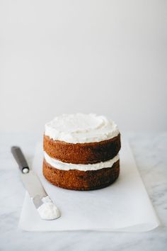 Spelt Vanilla & Blood Orange Cake w/ Whipped Cream