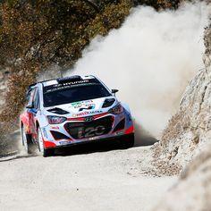 2015 WRC 맥시코 랠리티에리 누빌의 질주 Neuville, Thierry Mexico Rally Hyundai i20 WRC Action