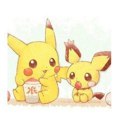 Pichu and Pikachu ^.^ ♡