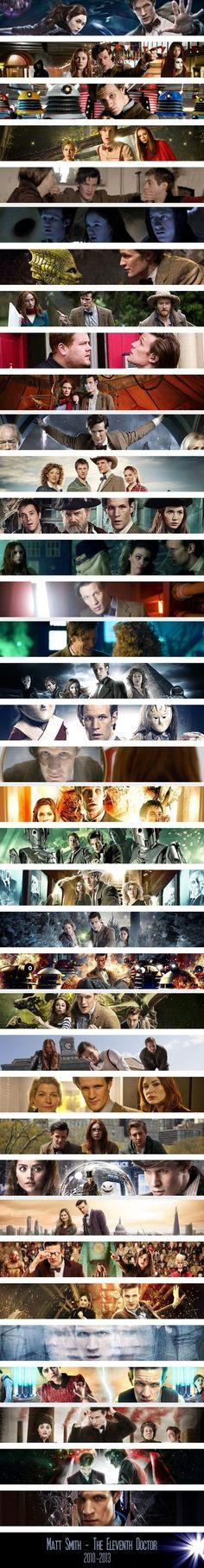 Matt Smith - The Eleventh Doctor ||| 2010 - 2013