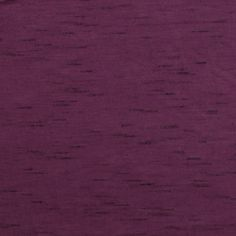 Burgundy Mira Slub Solid Cotton Jersey Blend Knit Fabric - A burgundy with a slight purple tone solid cotton jersey rayon blend knit with a black mira slub effect.  Fabric  is light to mid weight with a nice drape and stretch making it good for use in tops, dresses, leggings, and more! :: $6.00