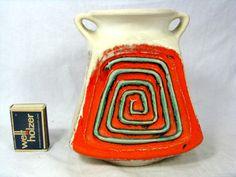 Rare / seltene  70´s   design Ü - Keramik Übelacker Keramik Vase 1785 / 15  | eBay