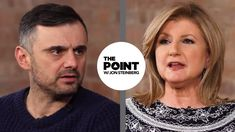 Very Different Views on Work-Life Balance with Arianna Huffington & Gary Vaynerchuk - The Point Trust Yourself, Live For Yourself, Stop Caring, Gary Vaynerchuk, Grateful For You, Question Everything, Work Life Balance, Live Your Life