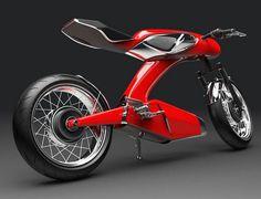 Honda Super 90 concept motorcycle 5