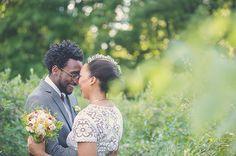 Rustic North Carolina Wedding: Roya + Isaiah | Green Wedding Shoes Wedding Blog | Wedding Trends for Stylish + Creative Brides