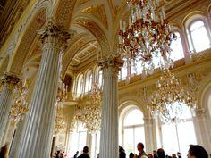 Una de las Salas del Palacio de El Eermitage en San Petersburgo