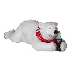 Coca-Cola Polar Bear Lying on Front