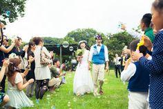 Garden wedding / ガーデンウェディング / ガーデン結婚式 / 野外 結婚式 / Camp wedding /キャンプウェディング/ http://www.crazywedding.jp/smile/ crazy wedding / ウェディング / 結婚式 / オリジナルウェディング/ オーダーメイド結婚式