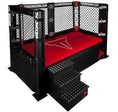 Throwdown Cage Bed #MMA #UFC