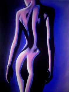 """Blue moon"" Dessin au pastel sec sur papier Pastel Mat. Back Drawing, Drawing S, Realistic Drawings, Easy Drawings, Pastel Portraits, Plastic Art, Black White Art, Girl Inspiration, Drawing Challenge"