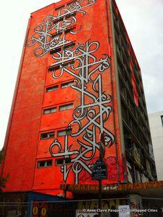 La Tour Paris 13-Street Art-World Largest Collective Street Art Tower-2013-Paris-007