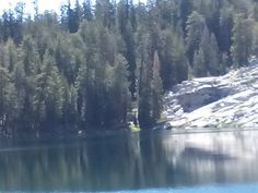 Jennie Lake, Sequoia - rode our horses here from Big Meadows campground