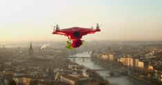 Love is in the air: #cupidrone