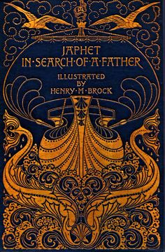 ART NOUVEAU BOOK COVERSJaphet in Search of a Father