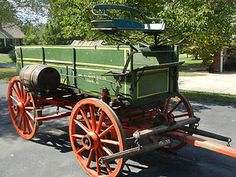 Studebaker Farm Wagon | Studebaker-Horse-Drawn-Farm-Wagon-1905-or-older-