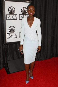 Lupita Nyong'o in Altuzarra - Los Angeles Film Critics Association Awards 2014