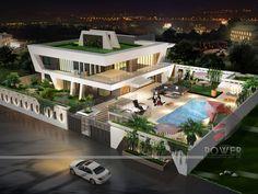 Belle homes & Estates Inserzioni - case di lusso Home Building Design, Home Design, Big Mansions, Ultra Modern Homes, Modern Villa Design, Futuristic Home, Model House Plan, House Front Design, Modern Mansion