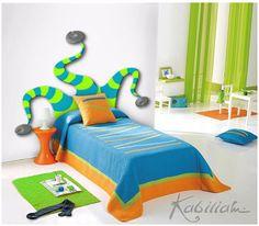 Cabeceros de cama para niños en www.cabecerosdecamas.com