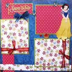 disney scrapbook pages - Google Search