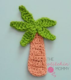 Palm Tree Applique - Free Pattern www.thestitchinmommy.com