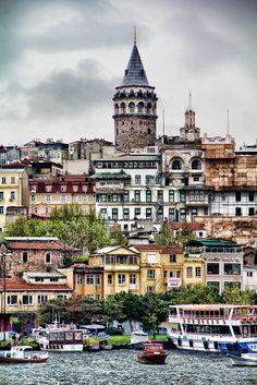Galata Tower,Istanbul.. by Furkan Büyükmutlu on 500px