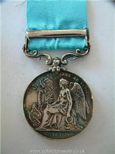 ARMY OF INDIA GENERAL SERVICE MEDAL ASSYE BAR HEIC