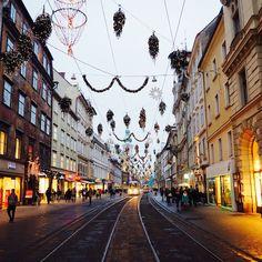 Herrengasse in Graz Graz Austria, Street View, Europe, Paris, World, Travel, Beautiful, Gap Year, Travel Report