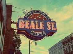 I love the neons on Beale.