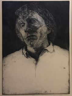 """Charles Wells, """"Him"""". etching. Part of my personal collection."""