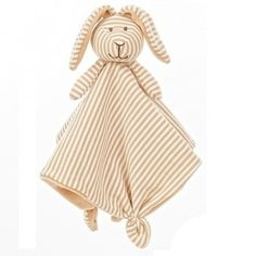 Teddykompaniet  Stripes Bunny Cuddly (Beige)